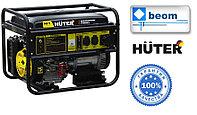 Электрогенератор бензиновый 7,5 кВт 220В HUTER DY9500LX электростартер