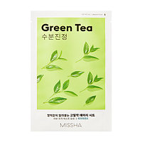 Тканевая маска с экстрактом зеленого чая Airy Fit Sheet Mask (Green Tea)