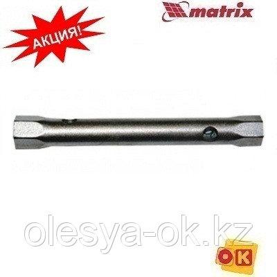 Ключ-трубка торцевой 17 х 19 мм, оцинкованный// MATRIX, фото 2