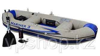 Надувная лодка Intex Mariner 3 68378- трехместная лодка доставка