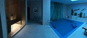"""Переливной бассейн. Размер = 2,8 х 2,9 х 1,7 м. Адрес: к.г. """"ЭДЕЛЬВЕЙС"""". 4"""