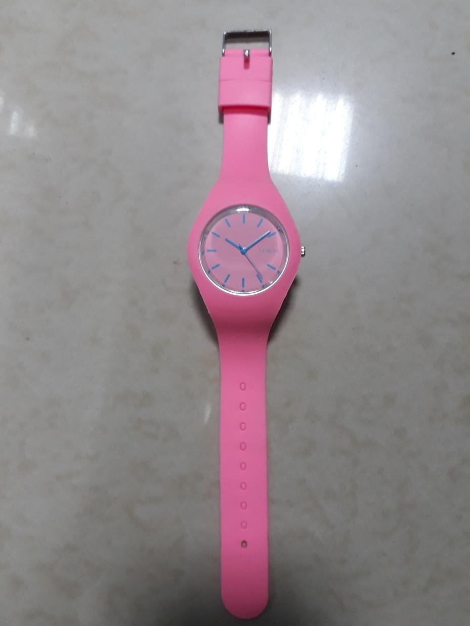 Женские часы Geneva силиконовый ремешок