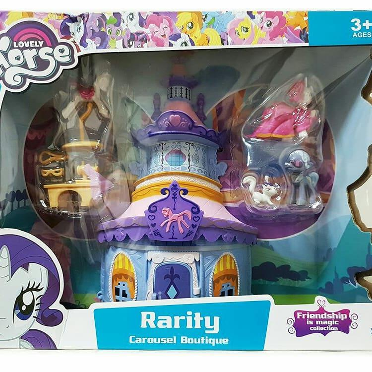 Lovely Horse Rarity Carousel Boutique