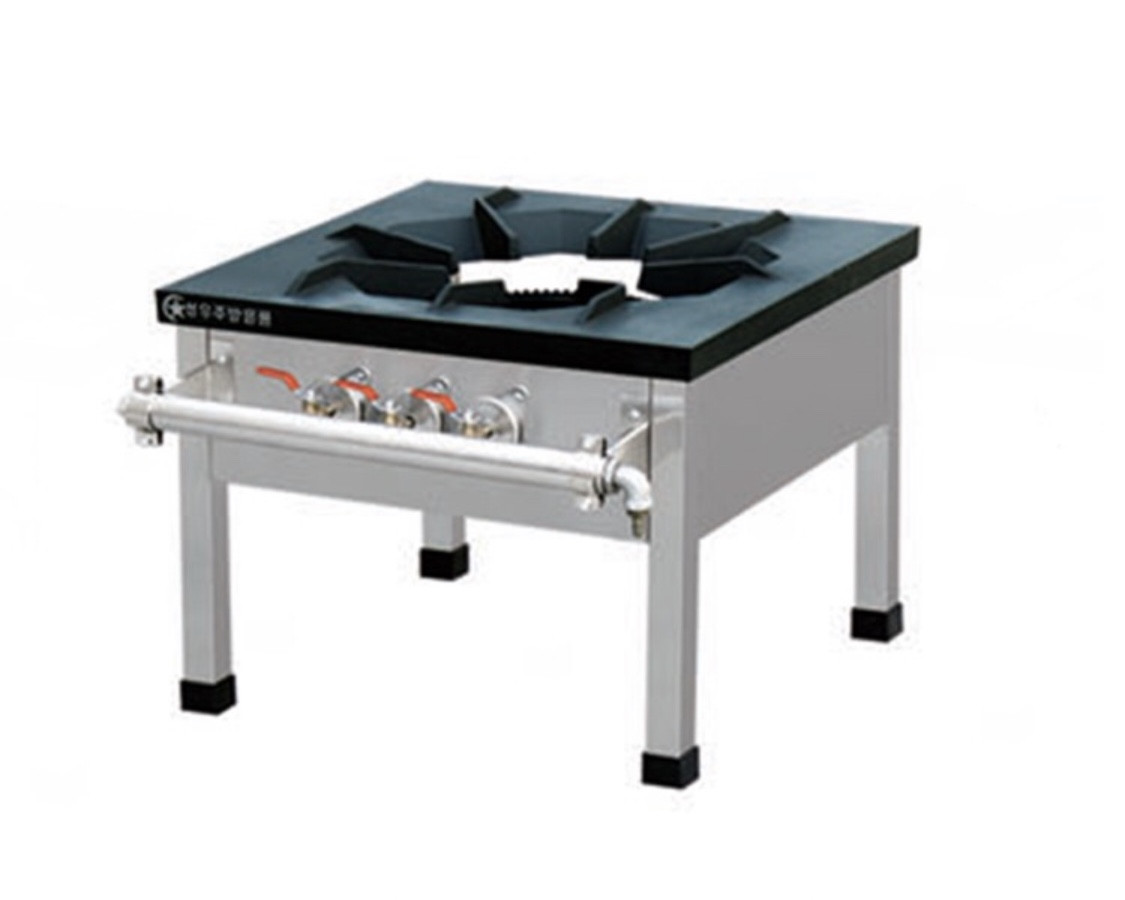 Плита 1-конфорочная  (газовая) 60х60х80см 3 регулятора