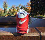 Кроссовки Nike Air More Uptempo (White&Red), фото 3