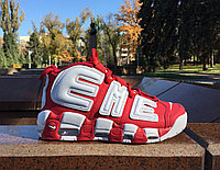 """Кроссовки Nike Air More Uptempo """"Supreme"""" (White&Red)"""