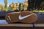 Кроссовки Nike Air More Uptempo (Brown), фото 4