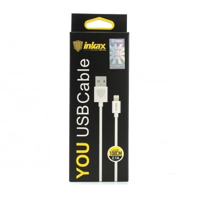 Кабель INKAX CK-01 Lightning iPhone USB 2.1А