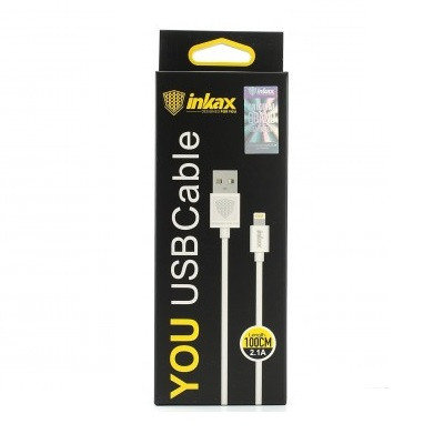 Кабель INKAX Lightning iPhone USB CK-01, фото 2