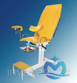 Кресло гинекологическоеКГ-02 «Ока-Медик» (изменение углов наклона спинки и сиденья при помощи пневмопружин.)