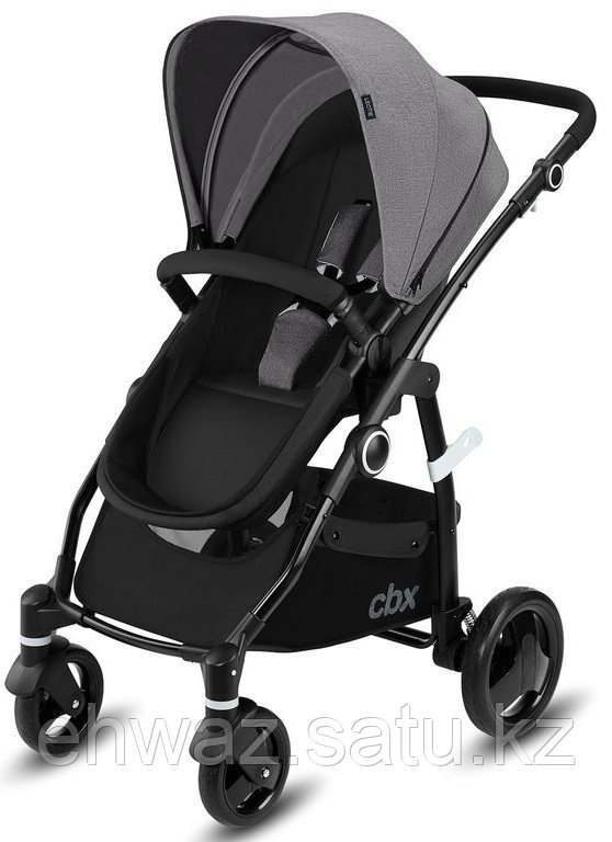 Коляска 2в1 CBX by Cybex Leotie Pure Comfy Grey (Германия)