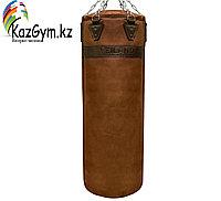 Боксерский мешок из нат. кожи (140х40 см, 55кг)