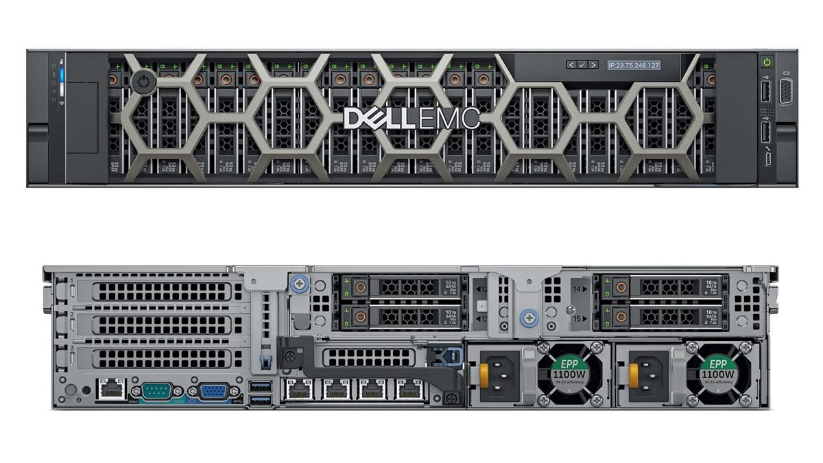 Dell PowerEdge R740XD 24SFF/2