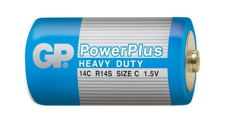 Батарейка С GP Power Plus R14