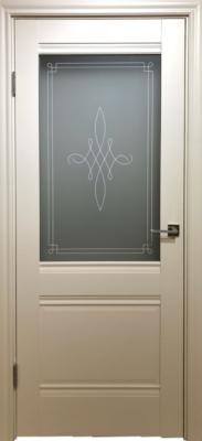 Дверь DL305ДО, цвет Ваниль