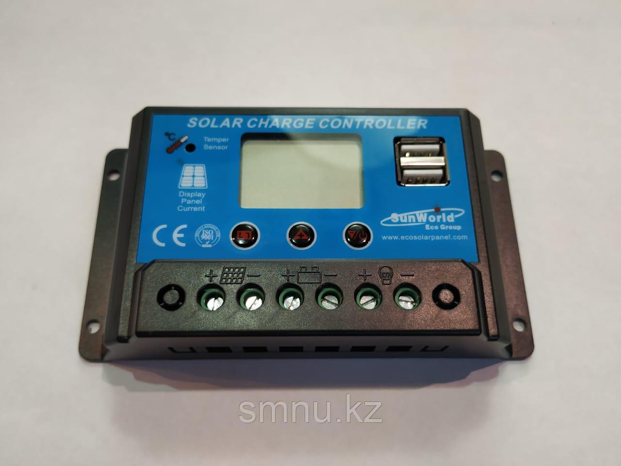 Контроллер заряда аккумулятора для солнечных батарей 30 А