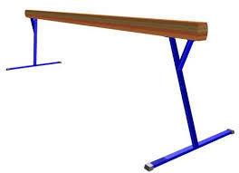 Бревно гимнастическое регул. высота 3м, фото 2