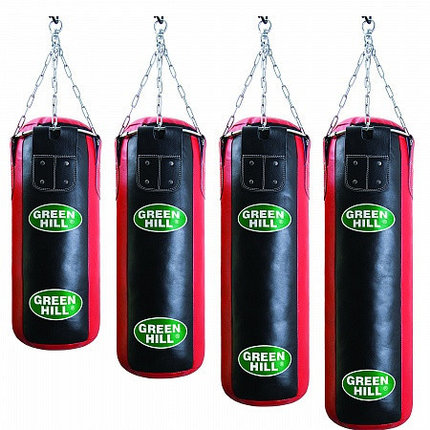 Боксерский мешок GREEN HILL оригинал кожа 180 см / 35 см, фото 2