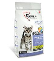 1st Choice «Здоровый старт» для котят от 2 до 12 месяцев, на основе курицы  907 гр.