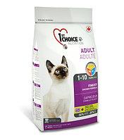 1st Choice Finicky с цыпленком - для привередливых взрослых кошек от 1 года до 10 лет 2.72 кг., фото 1