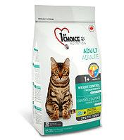 1st Choice «Контроль Веса» с курицей - для взрослых кастрированных и стерил. кошек от 1 года и старше 2.72 кг.