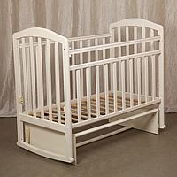 Детская кроватка «Алита 3» маятник поперечного качания, качалка