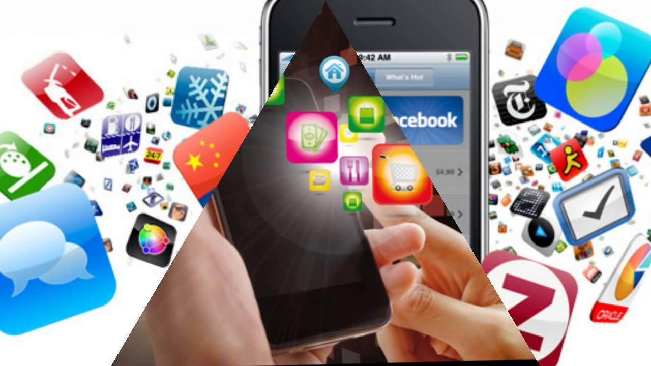 Реклама приложения для телефона в Капчагай