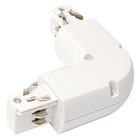 WHITE L-CONNECTOR (4 LINE) (TS)50,25шт