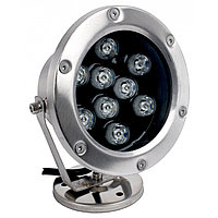 Подв.прожектор LED F6008 9W RGB-DMX  IP68 (TS)12шт
