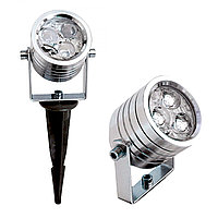 Парк. св-к  R7300-SPIKE (3X1W WHITE LED)(TS)12шт,18