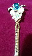 """Японская палочка-шпилька для волос""""Голубая Орхидея"""", фото 1"""
