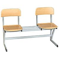 Школьные стулья 2LI (двойные) H-410мм Модель2 MGL (