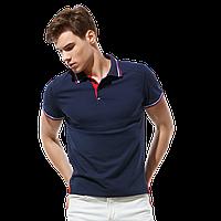 Стильная рубашка поло  StanSalute 05RUS Тёмно-синий XL/52