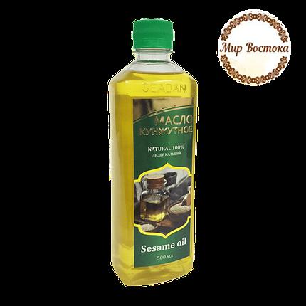 Кунжутное масло первого холодного отжима Seadan 500 мл , фото 2