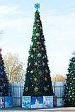 Ели искусственные искусственная ель, елки искусственные, елки из пвх 7 м (диаметр 3 м), фото 2