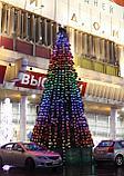 Искусственная каркасная елка Астана, хвоя-пленка 7 м (диаметр 3 м), фото 5