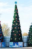 Искусственная каркасная елка Астана, хвоя-пленка 24 м (диаметр 10,5 м), фото 7
