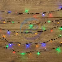 "Гирлянда ""Твинкл Лайт"" 15 м, темно-зеленый ПВХ, 120 LED, цвет мультиколор, фото 1"