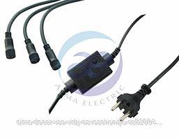 Контроллер 340W, 3 выхода, 8 программ 3-х контактный