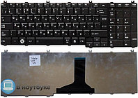 Клавиатура для ноутбука Toshiba Satellite C650/ C660/ L650/ L670/ RU, черная, белая