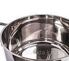 Мантоварка Vicalina со стеклянной крышкой (12 литров) 32 см, фото 3