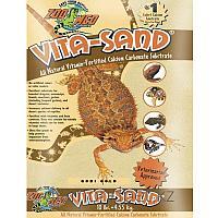 Витаминизированный кальциенизированный субстрат Vita Sand Gobi Gold для террариума 4.5кг Zoo Med арт.VG-10