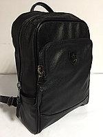 Городской рюкзак из кожи. Высота 42 см, длина 28 см, ширина 14 см., фото 1