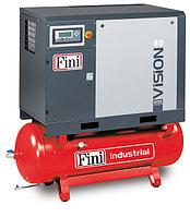 Винтовой компрессор FINI VISION 1110-270F-ES VS на ресивере с осушителем с частотником