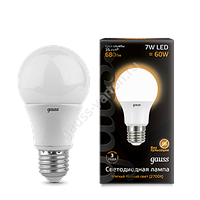 Лампа Gauss LED A60 E27 7W2700K