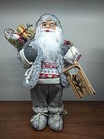 """Премиум новогодняя фигура """"Дед мороз"""" 33 см"""