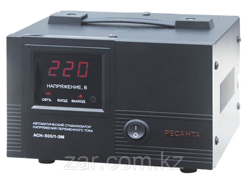 Ресанта АСН-500/1-ЭМ Стабилизатор однофазный электромеханический