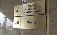 Изготовление табличек в Алматы