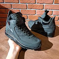Nike Air Max 90 Sneakerboot Winter All Black