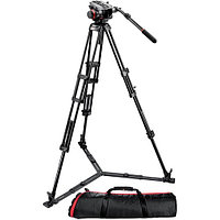 Manfrotto 504HD Head w/546GBK 2-Stage Aluminum Tripod System
